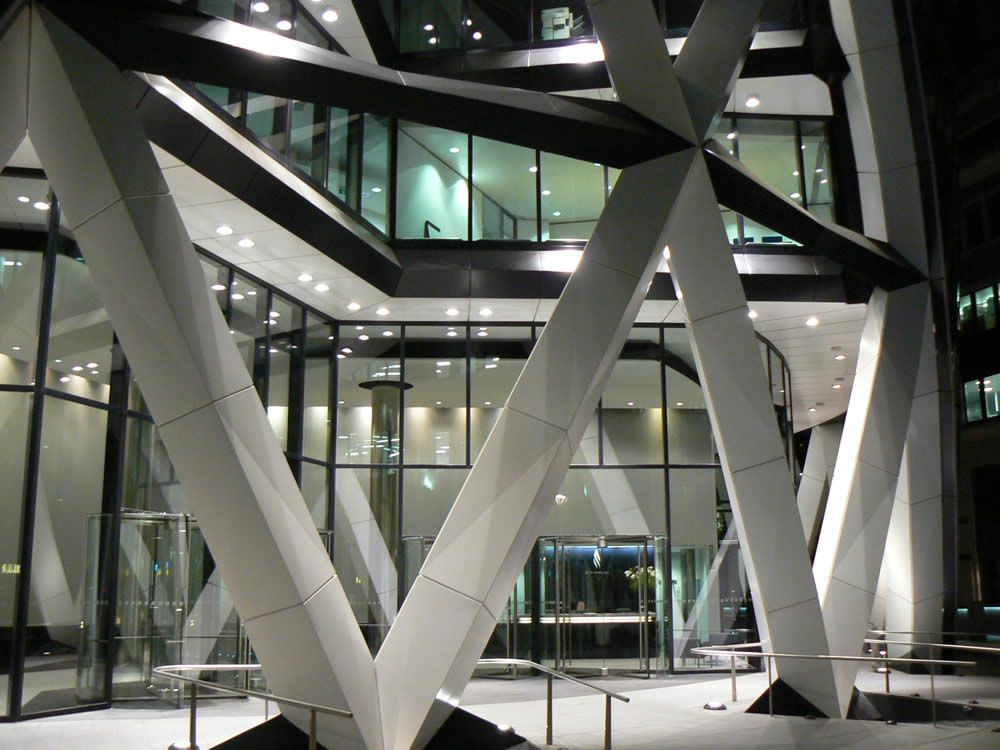 Swiss Re, al 30 St Mary Axe di Londra