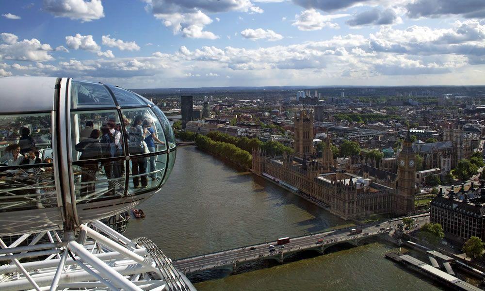 London eye la ruota panoramica di londra biglietti for Guide turistiche londra