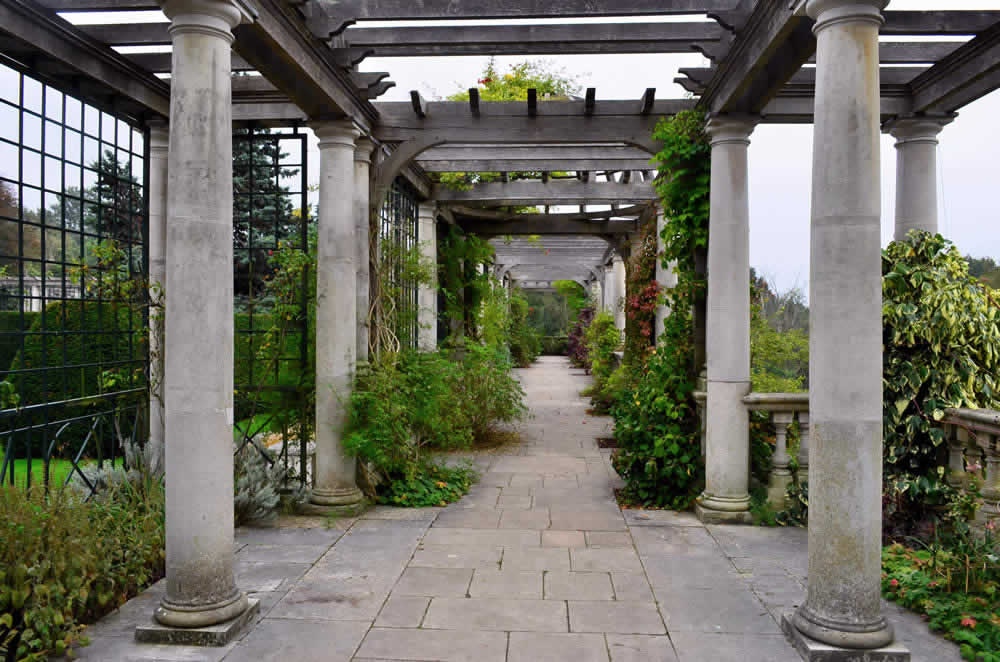 The Pergola and the Hill Garden