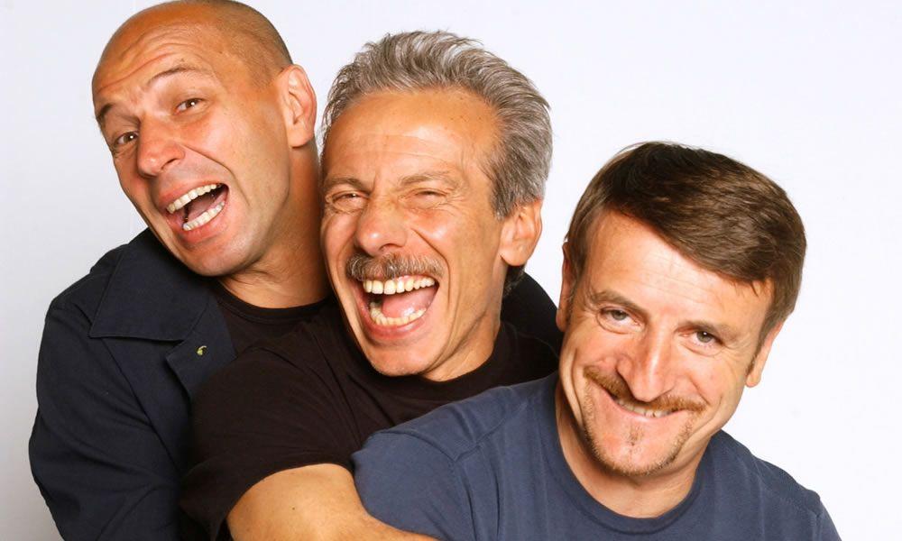 Aldo, Giovanni e Giacomo a Londra per i 25 anni di carriera