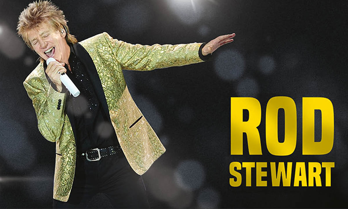 Rod Stewart in concerto a Londra