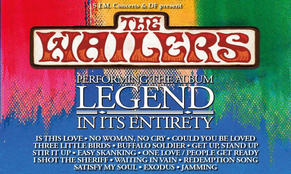 The Wailers performing LEGEND in it's entirety