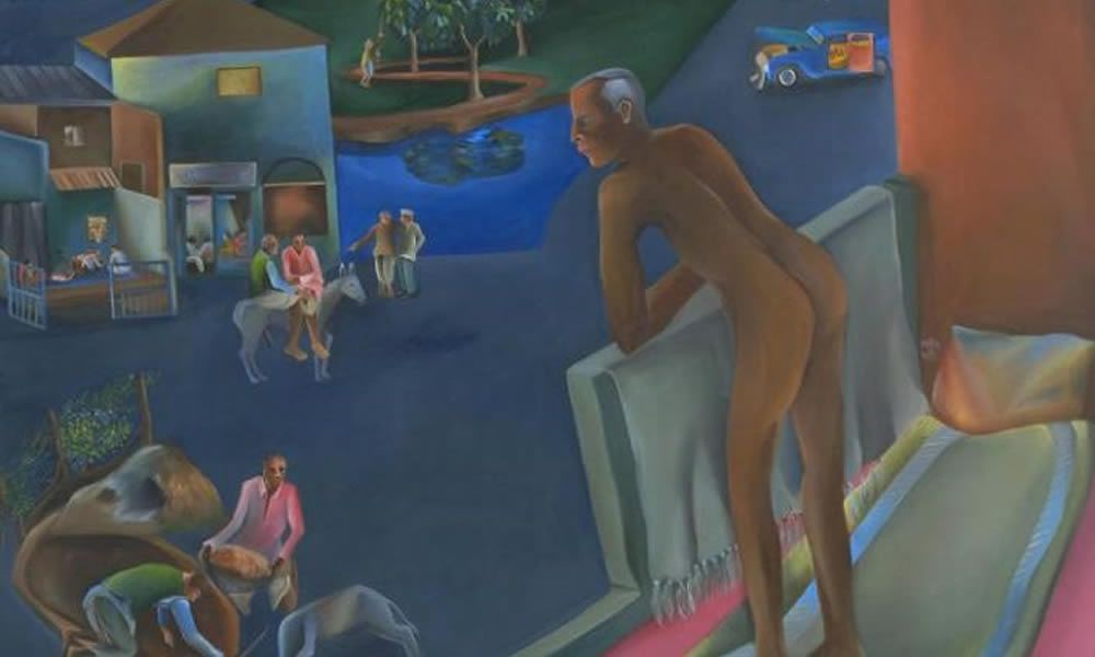 La mostra Bhupen Khakhar. You can't Please all a Londra