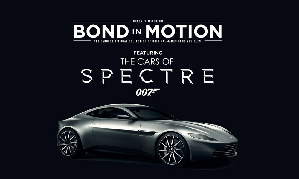 La mostra Bond in Motion. Cars of Spectre a Londra