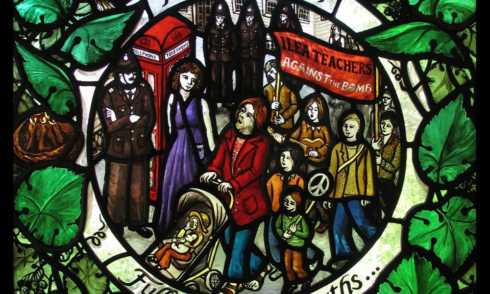 Stained Glass: Seven Ages of Man