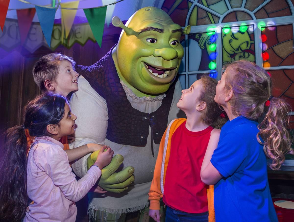 Shrek's Adventure Welcome