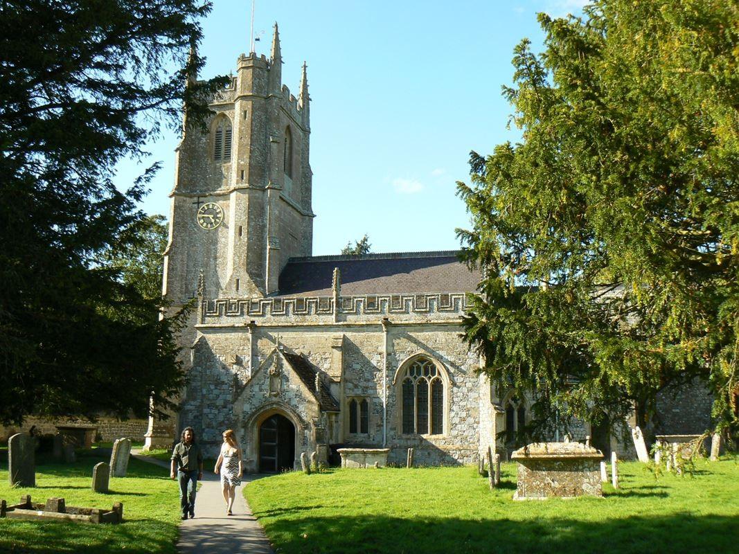 La chiesa storica di Avebury