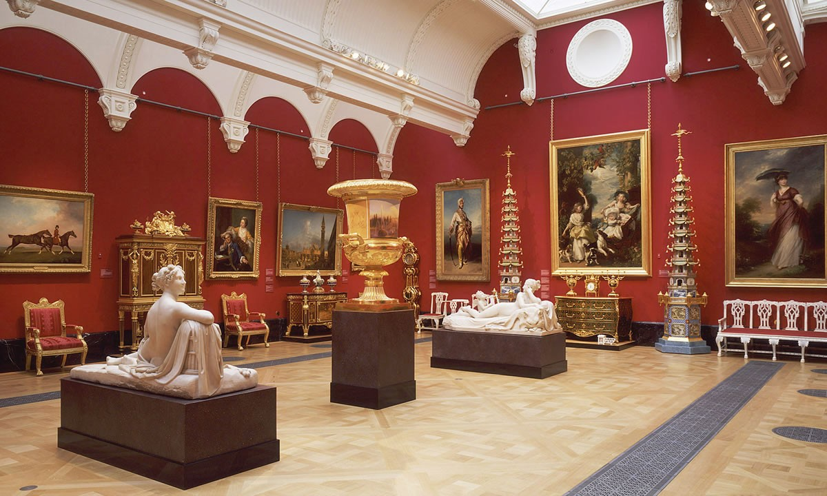 The Queen's Gallery a Buckingham Palace