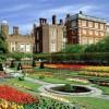 I giardini di Hampton Court Palace si estendono per 60 acri