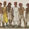 Family of Ghulam Ali Khan, Six Recruits, Fraser Album, c.1815 Freer Gallery of Art and Arthur M. Sackler Gallery [Smithsonian Institution] Sheikh Mohammah