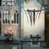 Il punto in cui Thomas Becket venne ucciso, all'interno della Cattedrale