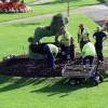 Giardinieri all'opera a Bath