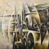 Tullio Crali Assault of Motors, 1968 (Assalto di motori) Oil on canvas 80 x 100 cm