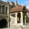 La zone circostante la Cattedrale di Canterbury