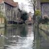Uno dei tanti canali della cittadina medioevale