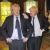 Il vero Boris Johnson incontra la sua riproduzione a Madame Tussauds