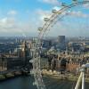 Il London Eye su Palace of Westminster e il Big Ben