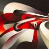 Tullio Crali The Forces of the Bend, 1930 (Le forze della curva) Oil on canvas 70 x 90 cm