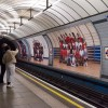 Steve McQueen Year 3 Billboards at Pimlico Tube Station, London Borough of Westminster. Courtesy of Artangel. Photo Theo Christelis