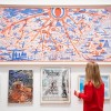 Installation view of the Summer Exhibition 2020 (6 October 2020 – 3 January 2021) at the Royal Academy of Arts, London, showing The American Dream by Grayson Perry RA. Photo: © Royal Academy of Arts / David Parry