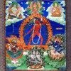 Painting of the goddess Narodakini, Tibet, 1700–1900. © The Trustees of the British Museum.