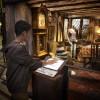 Harry Potter Studios Londra - Family Weasleys Kitchen Knit the Scarf