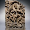 Chamunda dancing on a corpse, Madhya Pradesh, Central India, 800s. © The Trustees of the British Museum