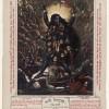 Print depicting the goddess Kali, Calcutta Art Studio, Kolkata (Bengal, India), about 1885–95. © The Trustees of the British Museum
