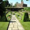 Un particolare dei giardini di Hampton Court Palace