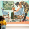 Installation view of the Summer Exhibition 2020 (6 October 2020 – 3 January 2021) at the Royal Academy of Arts, London, showing Blend in – stand out by Njideka Akunyili Crosby. Artwork: © Njideka Akunyili Crosby. Courtesy the artist, Victoria Miro, and Da