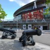 L'Emirates Stadium a Londra è lo stadio dell'Arsenal