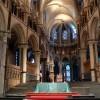 L'altare centrale della Cattedrale di Canterbury