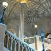 La scalinata della Bodley Tower, da cui si arriva alla Hall