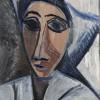 Pablo Picasso, Bust of Woman or Sailor (Study for 'Les Demoiselles d'Avignon'), Paris, spring 1907 Oil on cardboard, 53.5 x 36.2 cm Musée national Picasso-Paris. Pablo Picasso gift in lieu, 1979. MP15 Photo © RMN-Grand Palais (Musée national Picasso-Paris