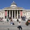 L'esterno del museo, su Trafalgar Square @ National Gallery