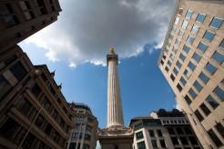 The Monument, il Monumento al Grande Incendio di Londra