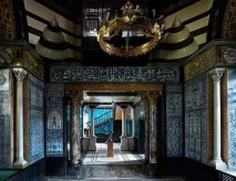La Arab Hall, tra gli ambienti più interessanti progettati a Londra nel corso della seconda metà del XIX secolo © Leighton House Museum