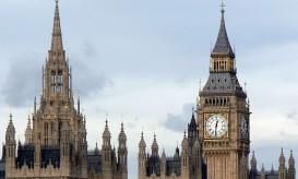 Il Palazzo di Westminster con il Big Ben