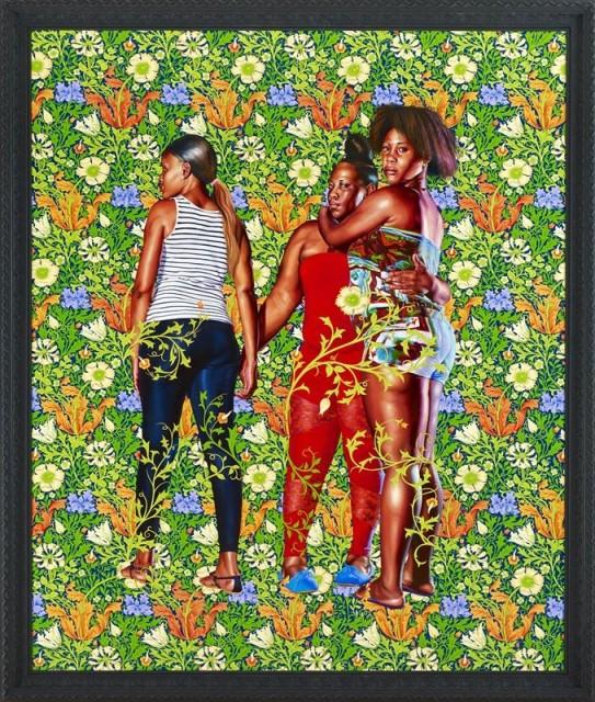 Kehinde Wiley: la mostra alla William Morris Gallery