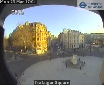 Webcam: vista su Trafalgar Square