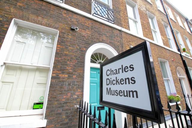 La casa museo di Charles Dickens